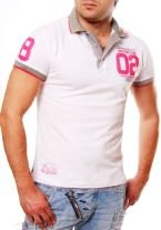 ORYGINAL T-SHIRT POLO 09 QQ727 WHITE