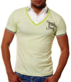 ORYGINAL T-SHIRT POLO CITY RAW GREEN