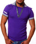 EXTRA ORYGINAL T-SHIRT POLO KDWN FIOLET S-1505