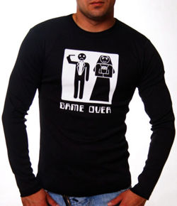 LONGSLEEVE CZARNY GAME OVER 90920